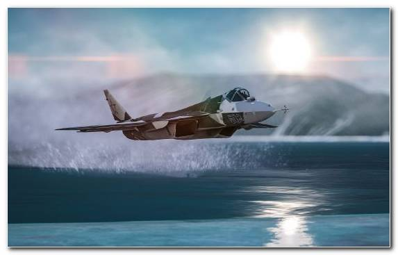 Image Fighter Aircraft Aircraft Water Airplane Bird