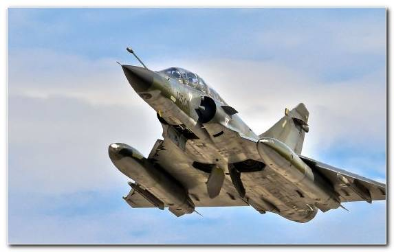 Image Fighter Aircraft Dassault Mirage 2000 Air Force Sky