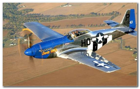 Image fighter aircraft ford mustang airplane propeller aircraft