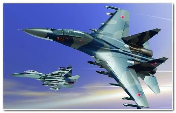 Image Fighter Aircraft Military Aircraft Sukhoi Su 17 Mcdonnell Douglas F 15 Eagle Sukhoi Su 30mkk