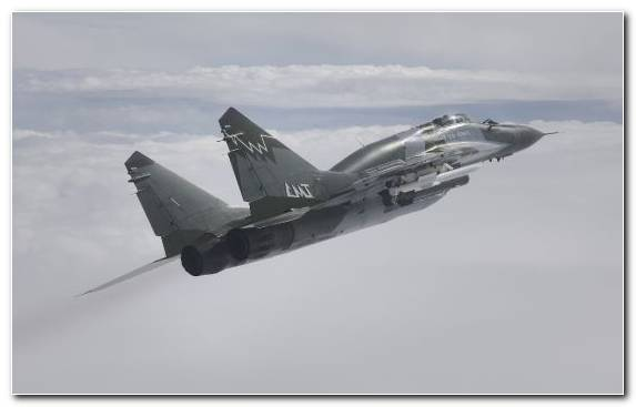 Image Fighter Aircraft Russian Air Force Mikoyan MiG 29M Mikoyan Mig 29 Military Aircraft