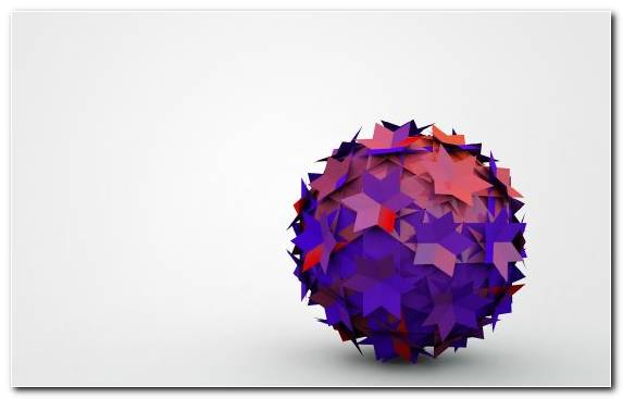 Image Figurines Purple Ball Sphere Shape