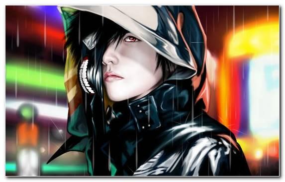 Image Film Illustration Man Girl Tokyo Ghoul