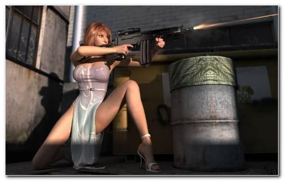 Image Firearm Gun Cannon Film Shooting Range
