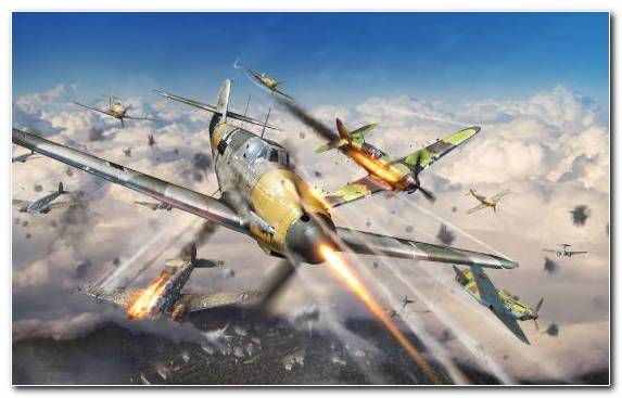Image flight airplane air force propeller driven aircraft war thunder