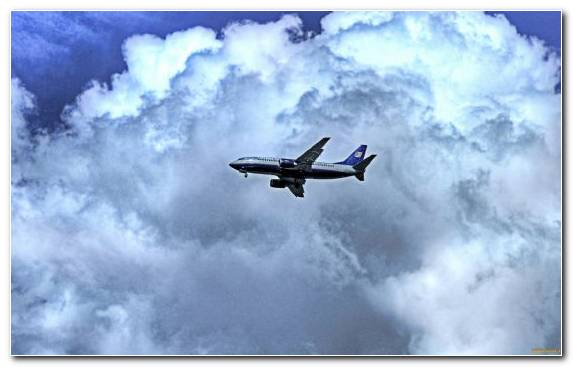 Image Flight Cumulus General Aviation Airliner Air Travel