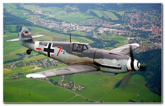 Image Flight Messerschmitt Messerschmitt Bf 110 Fighter Aircraft Aircraft