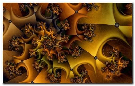 Image Fototapet Pattern Symmetry Yellow Art