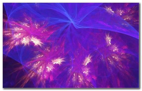 Image Fractal Art Purple Night Light Violet