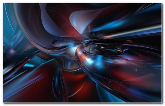 Image Fractal Art Red Graphics Symmetry Electric Blue