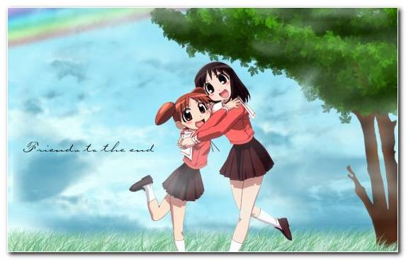 Image Friendship Vertebrate Anime Chiyo Mihama Film