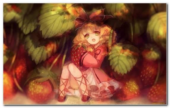 Image Fruit Art Ichigo Kurosaki Asuna Kirito