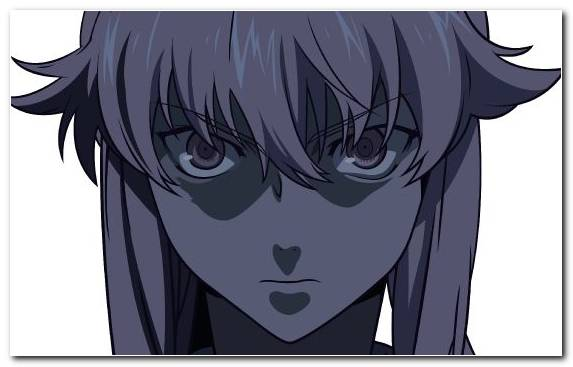 Image Future Diary Anime Face Chapter Black