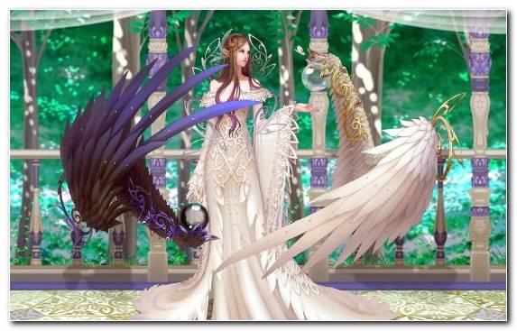 Image Game Fantasy Magic Girl Gown