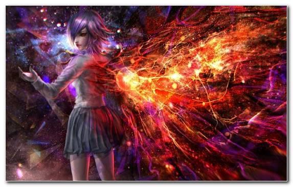Image Ghoul Purple Creative Arts Kirishima Touka Festival