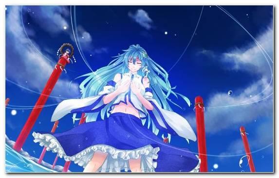 Image Girl Blue Sky Wind Manga