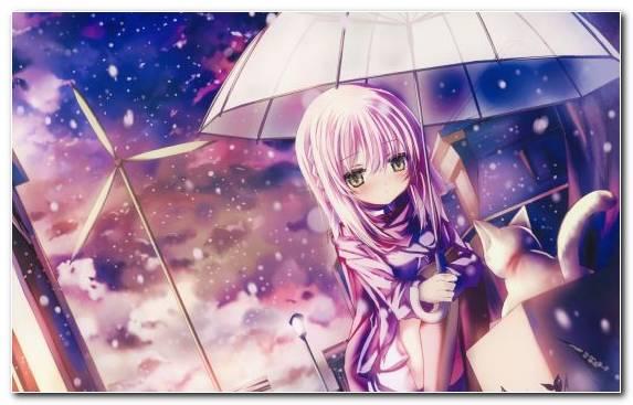 Image Girl Catgirl Mio Akiyama Ritsu Tainaka Purple