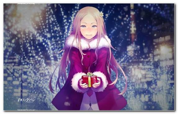 Image Girl Costume Violet Magenta Manga