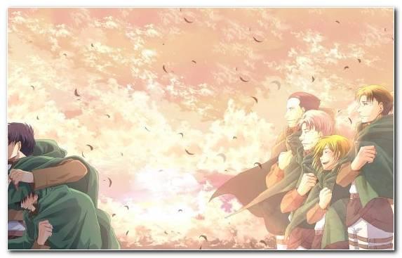 Image Girl Eren Yeager Anime Spring Levi