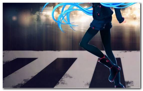 Image Girl Hatsune Miku Electric Blue Fan Art Vocaloid