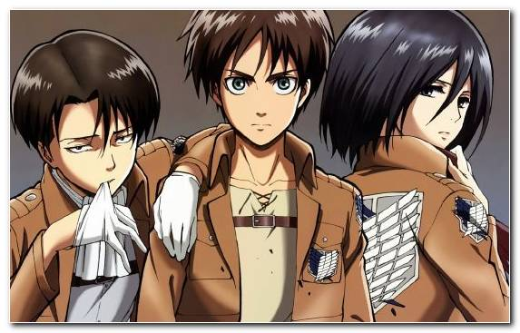 Image Girl Muscle Attack On Titan Brown Hair Anime