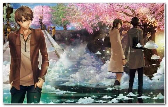 Image Girl Shinohara Akari Spring Tree