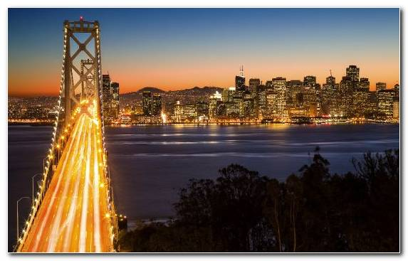 Image Golden Gate Bridge City Reflection Urban Area Horizon