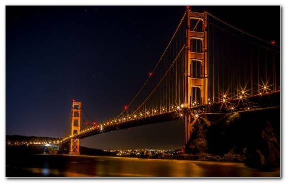 Image golden gate bridge suspension bridge cityscape landmark brooklyn bridge