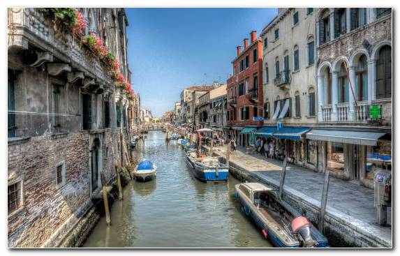 Image Grand Canal Town Water Transportation Body Of Water City