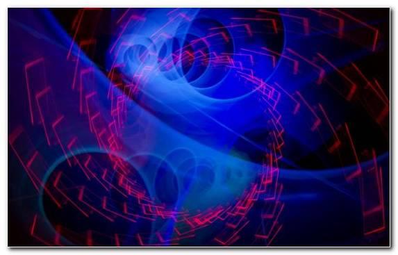 Image Graphics Blue Laser Fractal Art Light