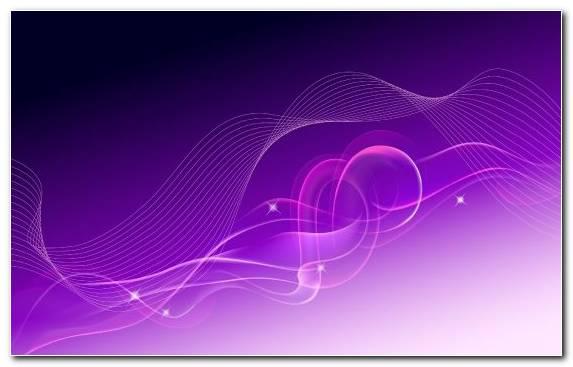 Image Green Line Violet Fractal Art Pink