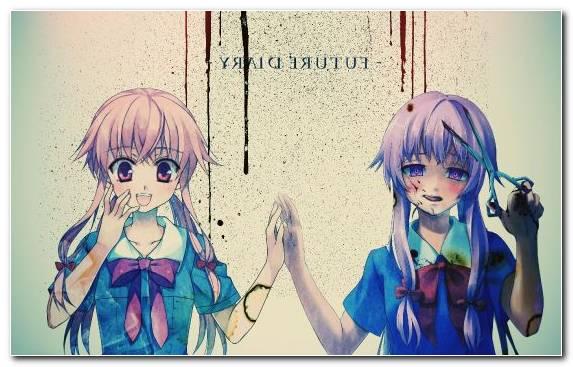 Image Hair Manga Yuno Gasai Future Diary Girl