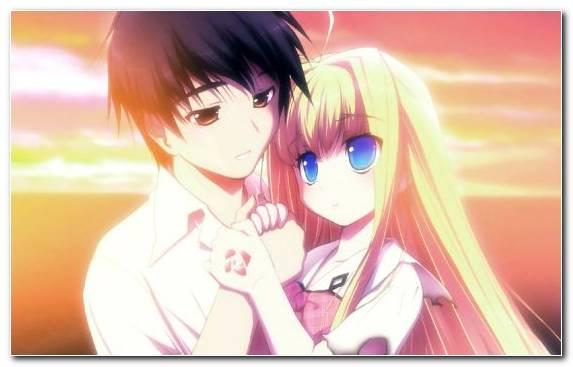 Image Hairstyle Love Cartoon Mangaka Kiss