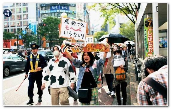 Image Half Life Fukushima Daiichi Nuclear Disaster Crowd Pedestrian Radiation