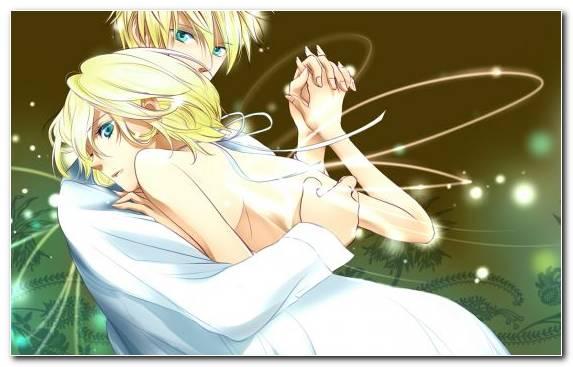 Image Hatsune Miku Rin Vocaloid Illustration Fairy