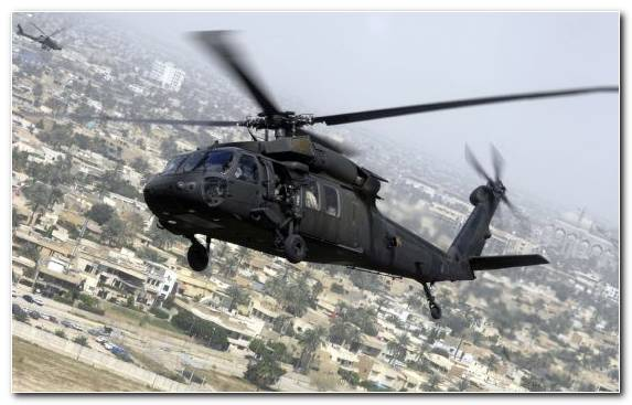 Image Helicopter Rotor Mode Of Transport Black Hawk Sikorsky Aircraft Flight