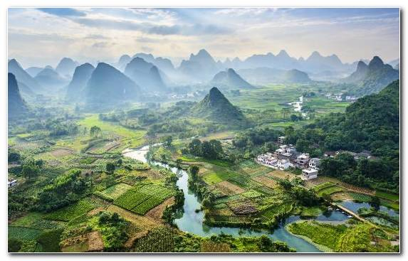 Image Hill Station Mountain Village Birds Eye View Mountainous Landforms Travel