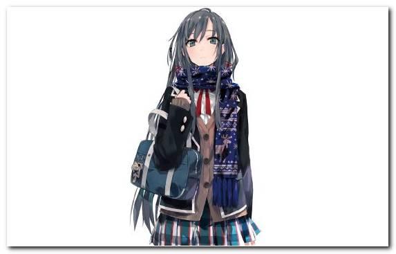 Image Hime Cut Yukino Girl Costume Cosplay Manga