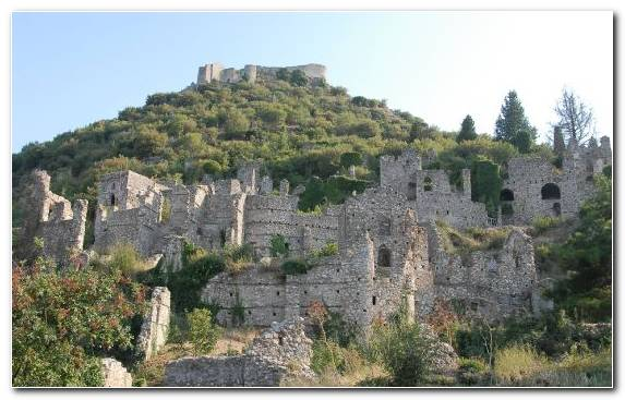 Image Historic Site Athens Fortress Castle Archaeological Site