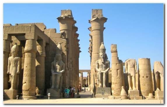Image Historic Site Cairo Nile History Column