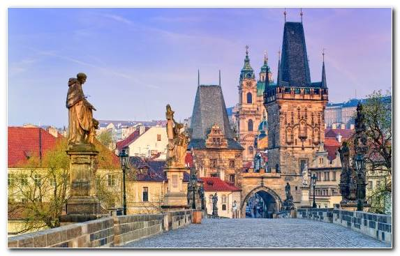 Image Historic Site Berlin Prague Astronomical Clock City Spire