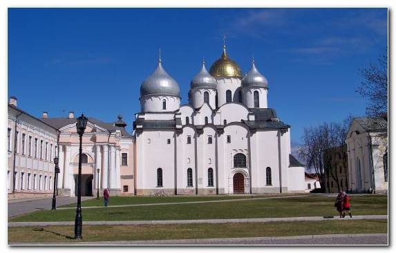 Image Historic Site Medieval Architecture Classical Architecture Landmark Saint Sophia Cathedral