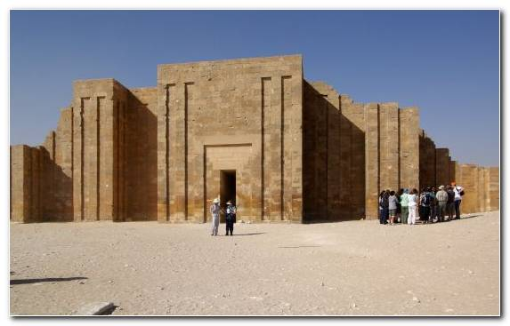 Image Historic Site Mortuary Temple Ancient Egypt Fortification Building
