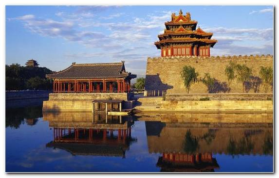 Image Historic Site Pagoda Morning Tourist Attraction Water