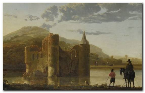 Image Historic Site Painting Ancient History Painter Castle
