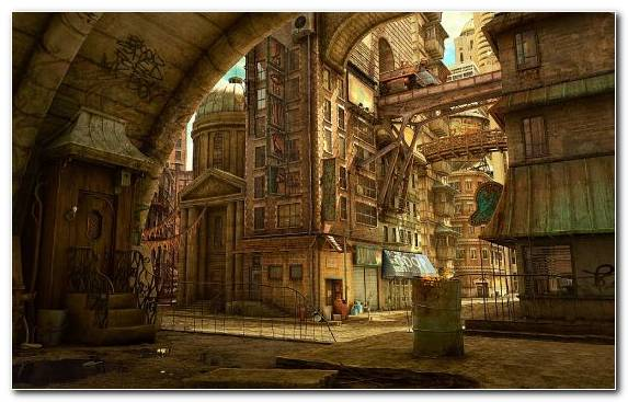 Image History Fantasy Medieval Architecture Digital Art Night