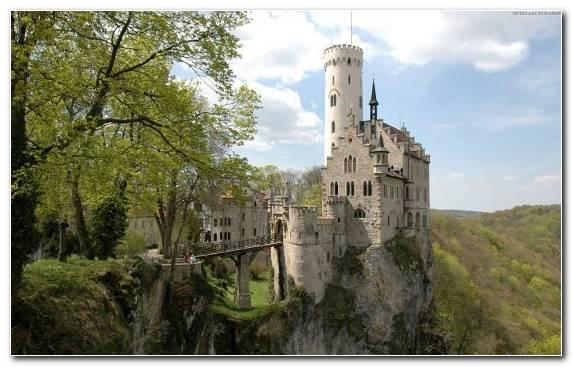 Image Hohenzollern Castle Castle Historic Site Palace Sky