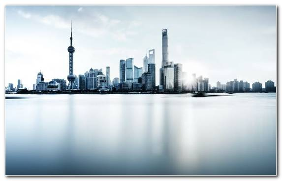 Image Horizon Capital City Shanghai World Financial Center Day Skyline