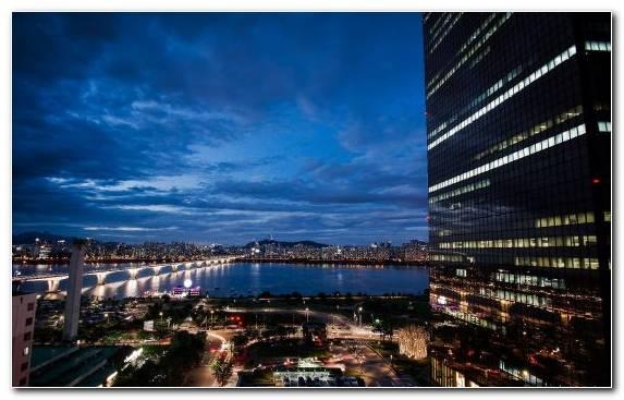 Image Horizon Metropolis Cityscape Skyline Sky