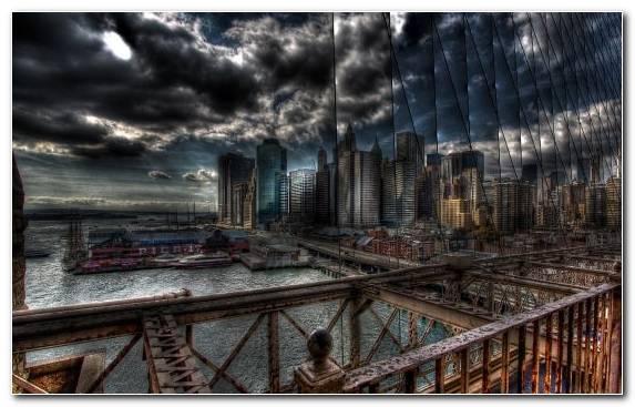 Image Horizon Metropolis Skyline Cityscape Sky